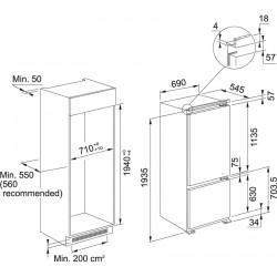 Franke Ankastre Buzdolabı FCB 400 V NE E Beyaz  70 Cm No Frost Ankastre Buzdolabı