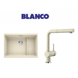 Blanco 700 U Level  Tezgah Altı 1.5 Gozlu Jasmin Evye + Blanco Linus S Spiralli Jasmin Armatür Kampanyası