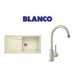 Blanco Sona 6 S XL  Tek Gözlü Tezgah Üstü Jasmin Granit Evye + Blanco  Spiralsiz Jasmin Armatur Kampanyası