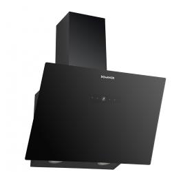 Dominox DA 625 V BK A Dekoratif Siyah Eğik Davlumbaz