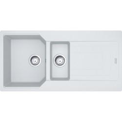 Franke Urban UBG 651-100 Granit Bianco / Beyaz Tezgaha sıfır / Üstü 1,5 Gözlü Granit evye