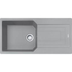 Franke Urban UBG 611-100 Fragranite Stone Grey Tezgaha Sıfır / Üstü Granit Evye