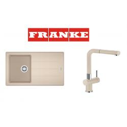 Franke Basis BFG 611-86 Granit Avena + Active Plus Avena Armatur Kampanyası
