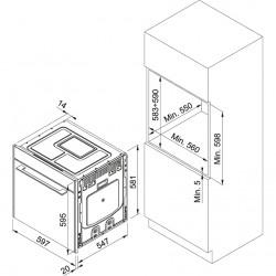 Franke Frames by Franke FS 913 M BK DCT TFT Siyah Multifonksiyonel Fırın