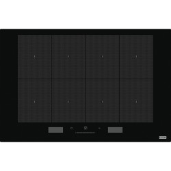 Franke Mythos FMY 808 I FP BK Black  8 Gözlü Tezgah Üstü / Tezgaha Sıfır Siyah Cam İnduksiyonlu Ankastre Ocak