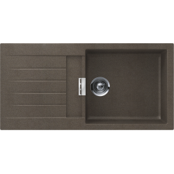 Schock SIGNUS D-100L Tezgaha Sıfır Her İki Yöne Kullanılabilir Bronz Granit Evye