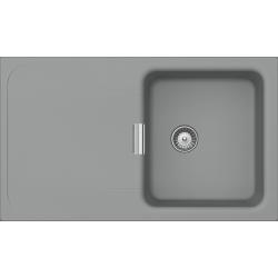 Schock WEMBLEY D-100 Tezgah Üstü / Tezgaha sıfır Granit Cliff / Gri Evye