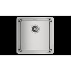 Teka BE LINEA 40.40 RS15 Tezgah Altı Damlalıksız Tek Hazneli Paslanmaz Çelik Evye