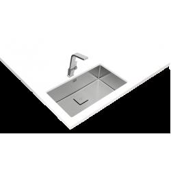 Teka FLEXLINEA RS15 71.40 Tezgaha Sıfır/ Tezgah Altı/Tezgah Üstü  Tek Hazneli Paslanmaz Çelik Evye