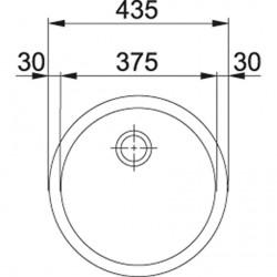 Franke Baccini RBX 110-38 Paslanmaz Çelik Evye