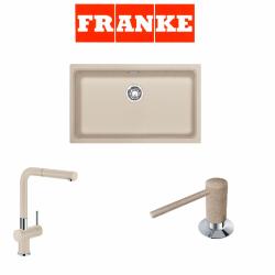 Franke Kubus KBG 110-70 Granit Avena  + Active Plus Avena Armatur ve Sıvı Sabunluk Kampanyası