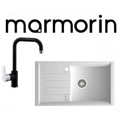 Marmorin Profir 860 1 Gözlü Tezgah Üstü Granit Evye + Tellur Armatur Kampanyası